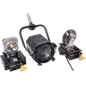 DeSisti EZ-4S LED 90W Daylight CCT Manual-Operated Retrofit Kit for Leonardo 1kW Tungsten Fresnel Spotlight - technoled.eu
