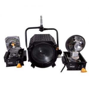 DeSisti EZ-4S LED 120W Daylight CCT Manual-Operated Retrofit Kit for Leonardo Piccolo 2kW Tungsten Fresnel Spotlight - technoled.eu