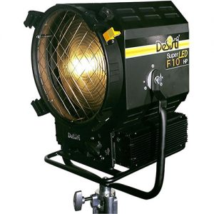 DeSisti Super LED F10 HP Tungsten-Balanced Fresnel - technoled.eu