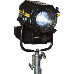 DeSisti Super F7 Балансиран за Tungsten LED Fresnel прожектор Ръчно управляван Rain Protected