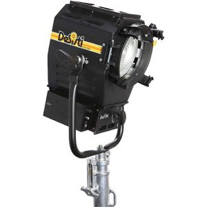 DeSisti Leonardo Piccolo 120W Tungsten-Balanced CCT LED Fresnel Spotlight - technoled.eu