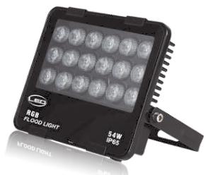 LED nano flood projector 54W – technoled.eu